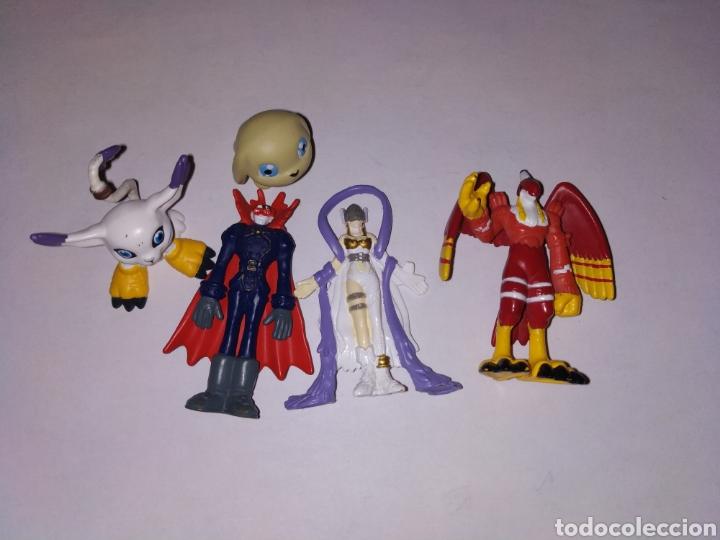 6 FIGURAS DIGIMON BANDAI (Juguetes - Figuras de Goma y Pvc - Otras)