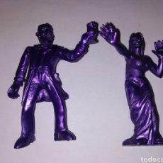 Figuras de Goma y PVC: 2 SUPER MONSTRUOS HTLV. Lote 194966776