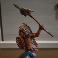 Figuras de Goma y PVC: LAFREDO JEFE INDIO. SERIE GRANDE. Lote 194974442