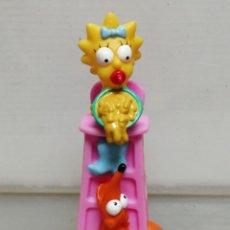 Figuras de Goma y PVC: FIGURA SIMPSON GOMA HUECA BURGER KING 2000 FOX . Lote 194978416