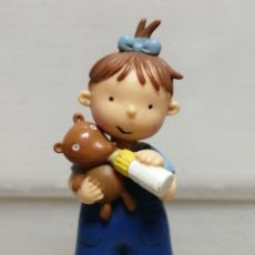 Figuras de Goma y PVC: FIGURA PVC LES TRES BESSONES TRES MELLIZAS YOLANDA CROMOSOMA . Lote 194978430