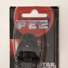 Dispensador Pez: DARTH VADER. STAR WARS. CARAMELOS PEZ. Lote 194980726