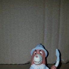 Figuras de Goma y PVC: FIGURA PVC GOMA MACIZA D'ARTACAN MOSQUEPERROS SOLDADO LANZA MUÑECO COLECCIÓN DIBUJOS ANIMADOS. Lote 194982463