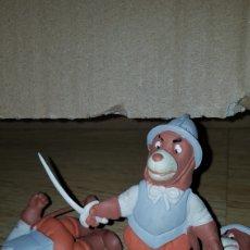 Figuras de Goma y PVC: FIGURA PVC GOMA MACIZA D'ARTACAN MOSQUEPERROS SOLDADO ESPADA MUÑECO COLECCIÓN DIBUJOS ANIMADOS. Lote 194982516