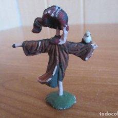 Figuras de Goma y PVC: FIGURA ANTIGUA ESPANTAPAJAROS ( PECH , JECSAN , REAMSA , TEIXIDO , OLIVER , COMANSI , ETC). Lote 194982936