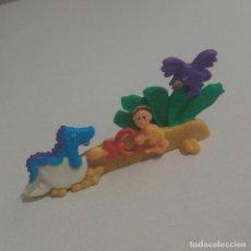 Figuras Kinder: PUZZLE 3D PREHISTORIA BEBE DINOSAURIO PREHISTORICO KINDER K 00 BABY DRAGON. Lote 194988562