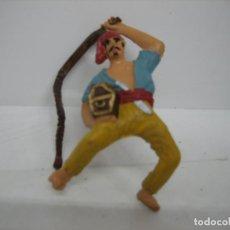 Figuras de Goma y PVC: FIGURA DE UN PIRATA. Lote 195009537
