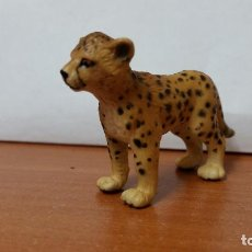 Figuras de Goma y PVC: FIGURA ANIMAL SCHLEICH LEOPARDO PEQUEÑO. Lote 195029248