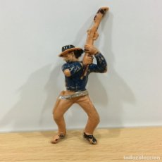 Figuras de Goma y PVC: FIGURA DEL OESTE - VAQUERO DE JECSAN - COWBOY PARA JECSARAMAS DE LOS AÑOS 70. Lote 195057495