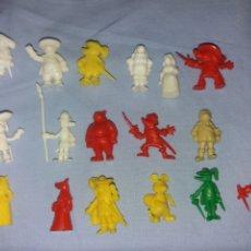 Figuras de Goma y PVC: FIGURAS DUNKIN COLEÇÃO DARTACAN. Lote 195083822
