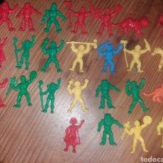 Figuras de Goma y PVC: LOTE DE FIGURAS DUNKIN MASTERS UNIVERSE. Lote 195096098