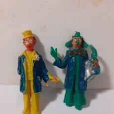 Figuras de Goma y PVC: JECSAN FIGURAS PAYASOS PARA RESTAURAR EN PLASTICO. Lote 195112147