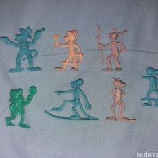 Figuras de Goma y PVC: LOTE DE FIGURAS DUNKIN PANTERA ROSA PORTUGAL. Lote 195114512