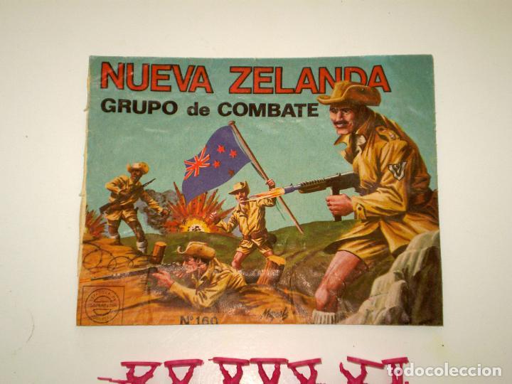 Figuras de Goma y PVC: MONTAPLEX SOBRE Nª 160 NUEVA ZELANDA VACÍO + 1 COLADA DE SOLDADOS NEOZELANDESES ANZAC - Foto 2 - 195116993