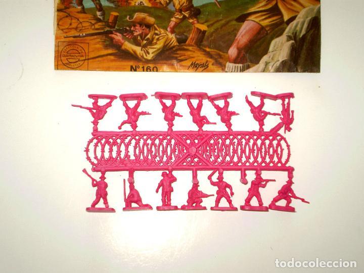 Figuras de Goma y PVC: MONTAPLEX SOBRE Nª 160 NUEVA ZELANDA VACÍO + 1 COLADA DE SOLDADOS NEOZELANDESES ANZAC - Foto 3 - 195116993