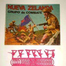 Figuras de Goma y PVC: MONTAPLEX SOBRE Nª 160 NUEVA ZELANDA VACÍO + 1 COLADA DE SOLDADOS NEOZELANDESES ANZAC. Lote 195116993