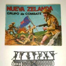 Figuras de Goma y PVC: MONTAPLEX SOBRE Nª 160 NUEVA ZELANDA VACÍO + 1 COLADA DE SOLDADOS NEOZELANDESES ANZAC. Lote 294020573