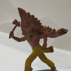 Figuras de Goma y PVC: PECH INDIO GOMA. Lote 195152580
