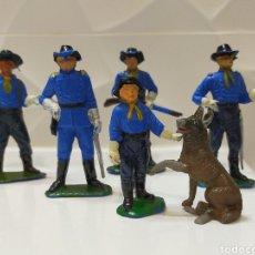 Figuras de Goma y PVC: JECSAN YANKEES SÉPTIMO CABALLERIA. Lote 195153420