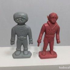 Figuras de Goma y PVC: DUNKIN DOS FIGURAS DETERGENTE TERIN CADIE. Lote 195170248
