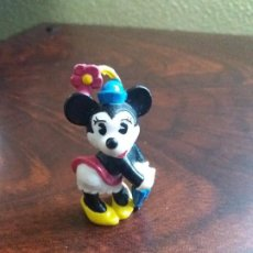 Figuras de Goma y PVC: FIGURA MINNIE MOUSE 6. WALT DISNEY COMPANY. BULLY. CHINA. 1986.. Lote 195184017
