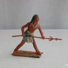 Figuras de Goma y PVC: REAMSA, COMANSI, PECH, LAFREDO, JECSAN... FIGURA INDIO.. Lote 195267518
