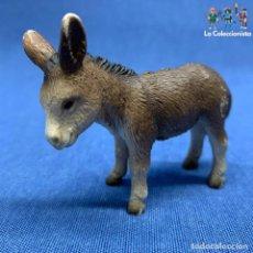 Figuras de Goma y PVC: SCHLEICH - ANIMALES SCHLEICH - ASNO - BURRO - DONKEY - AÑO 2002 - REF. 13268 - 8 CM. Lote 195267555