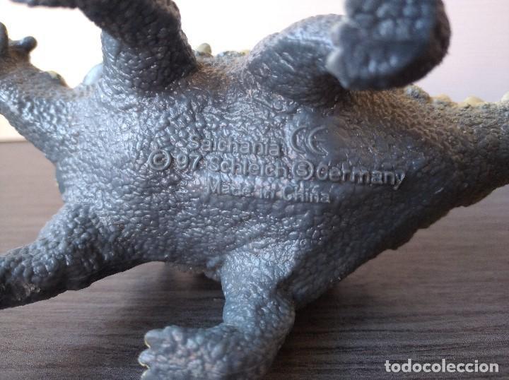 Figuras de Goma y PVC: FIGURA DINOSAURIO SAICHANIA-17x7cm aprox.-SCHLEICH-1997-VER FOTOS - Foto 4 - 195309001