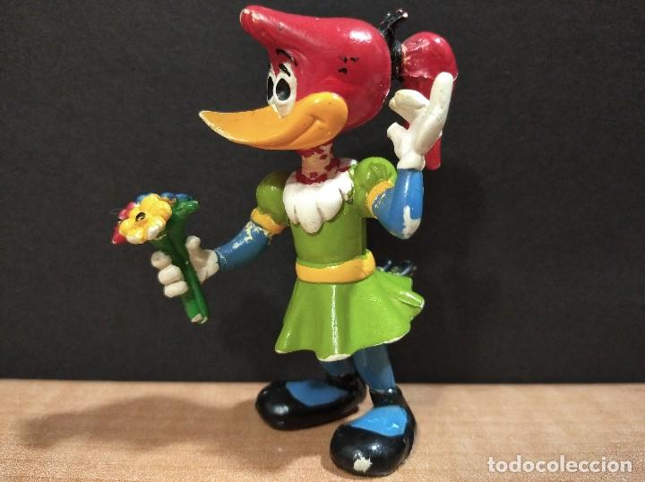 Figuras de Goma y PVC: FIGURA CHICA PAJARO LOCO-7cm aprox.-COMICS SPAIN-1984-VER FOTOS-B1-V2 - Foto 4 - 195318782