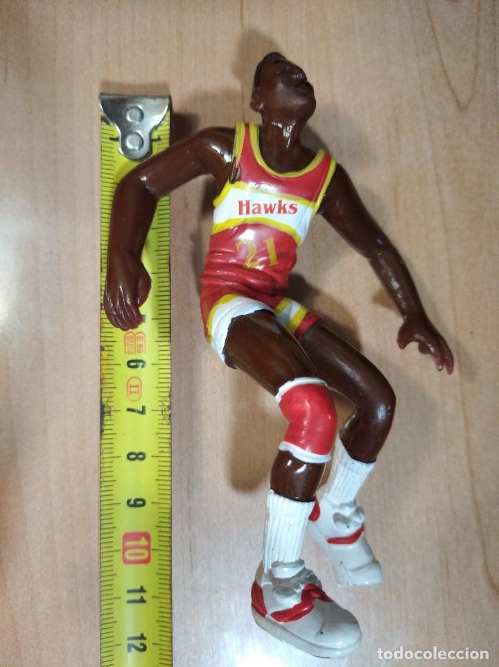 Figuras de Goma y PVC: FIGURA JUGADOR NBA WILKINS DE LOS HAWKS-11cm aprox.-YOLANDA-1997-VER FOTOS-B1 - Foto 5 - 195335710