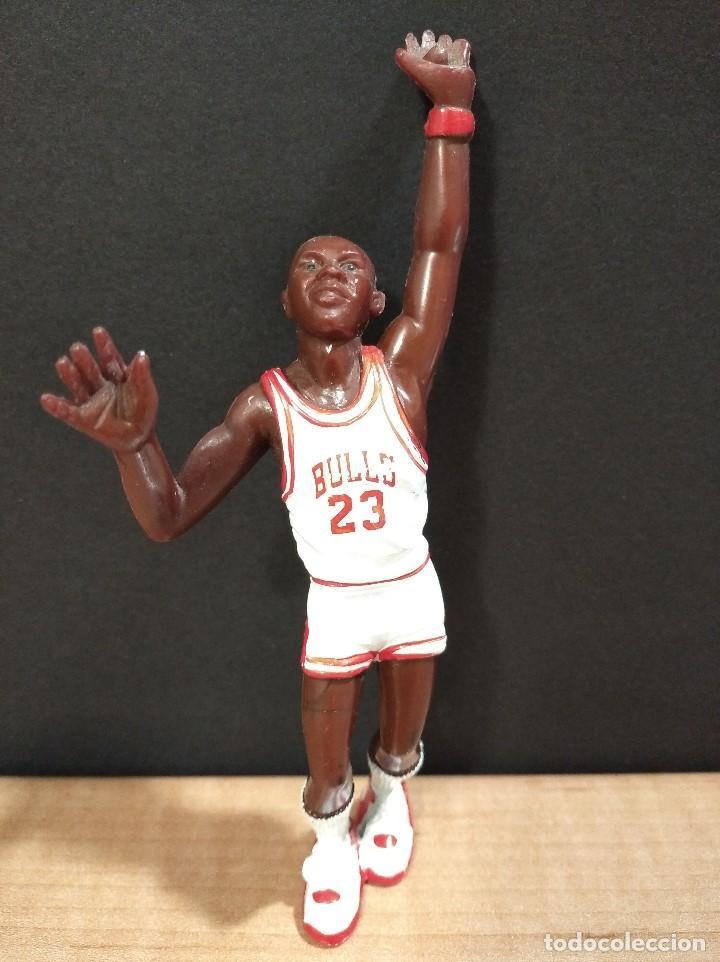 FIGURA JUGADOR NBA JORDAM DE LOS BULLS-14CM APROX.-YOLANDA-1997-VER FOTOS-B1 (Juguetes - Figuras de Goma y Pvc - Otras)