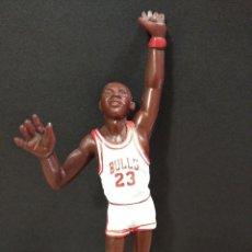 Figuras de Goma y PVC: FIGURA JUGADOR NBA JORDAM DE LOS BULLS-14CM APROX.-YOLANDA-1997-VER FOTOS-B1. Lote 195335893