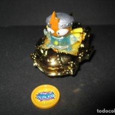 Figuras de Goma y PVC: SUPERZINGS SERIE 4 BLASTERJET DORADO + EL ULTRARARO KID KAZOOM DE MAGICBOX. Lote 195337428