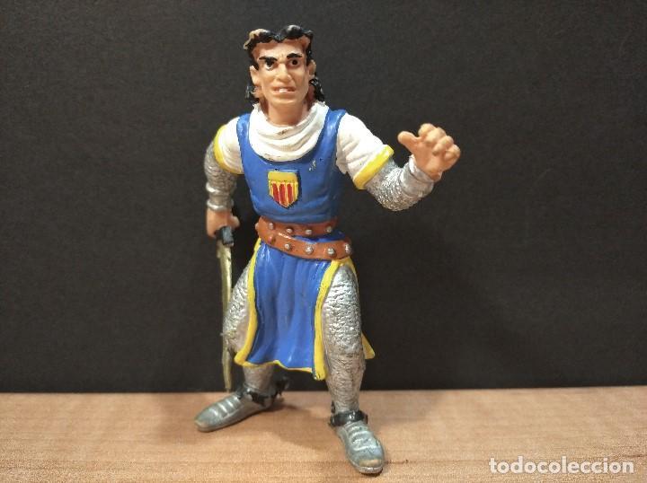 FIGURA CAPITAN TRUENO-9CM APROX.-COMICS SPAIN-AÑOS 80/90-VER FOTOS-B1 (Juguetes - Figuras de Goma y Pvc - Comics Spain)