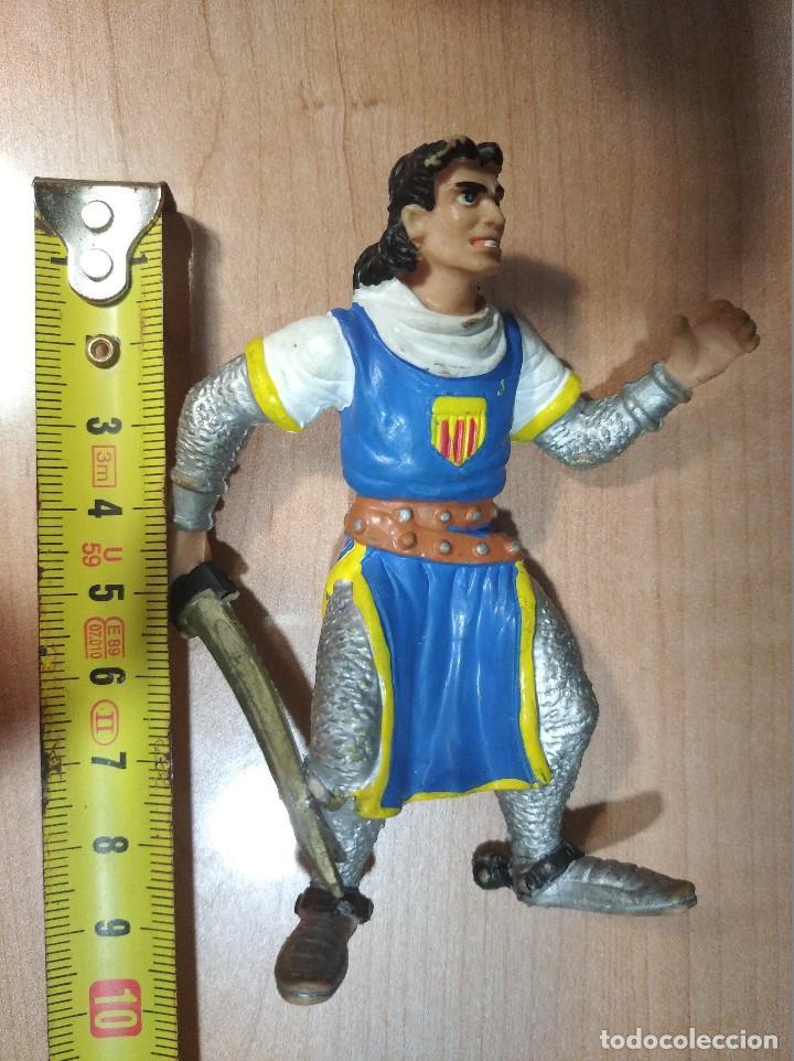 Figuras de Goma y PVC: FIGURA CAPITAN TRUENO-9cm aprox.-COMICS SPAIN-AÑOS 80/90-VER FOTOS-B1 - Foto 7 - 195377777