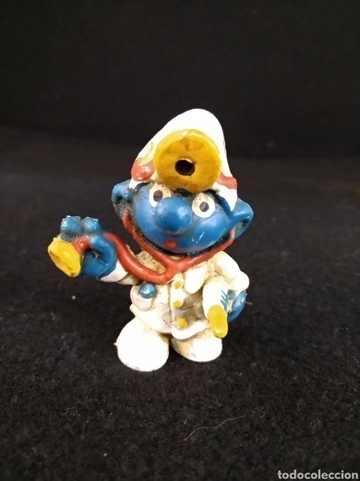 PITUFO MEDICO (Juguetes - Figuras de Goma y Pvc - Otras)
