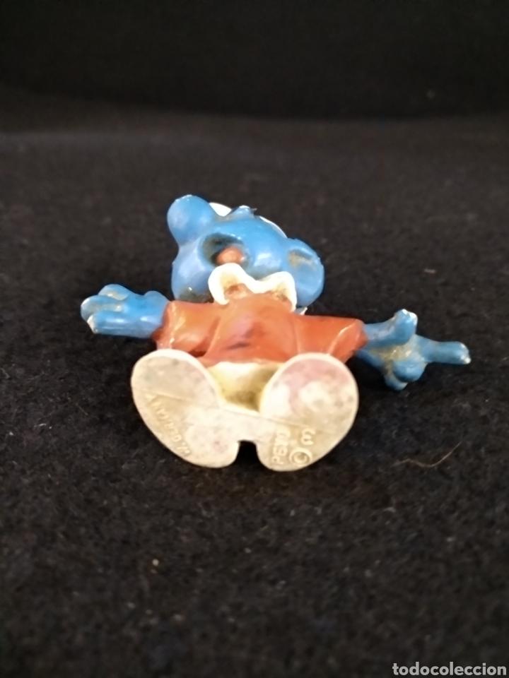 Figuras de Goma y PVC: Pitufo sabio, peyo Germany - Foto 3 - 195379031