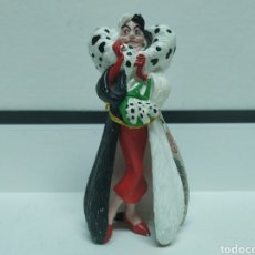 Figuras de Goma y PVC: CRUELLA DE VIL. 101 DALMATAS. DISNEY. Lote 195420828