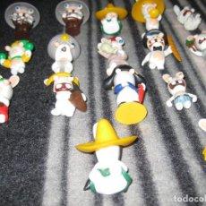 Figuras de Goma y PVC: RABBITS, 17 UNIDADES.. Lote 195430570