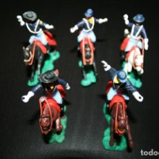 Figuras de Goma y PVC: FIGURAS SOLDADOS DE LA UNIÓN SIN ARMAS - TIPO SWOPPET PIEZAS INTERCAMBIABLES AÑOS 60-70. Lote 195440736