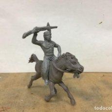 Figuras de Goma y PVC: FIGURA SERIE 50 MM JECSAN PECH HERMANOS INDIO WESTERN OESTE COWBOY NO COMANSI REAMSA . Lote 195441848