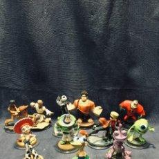 Figuras de Goma y PVC: INFINITY DISNEY MARVEL DISNEY PIXAR LOTE 12 FIGURAS. Lote 195472627