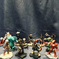 Figuras de Goma y PVC: INFINITY DISNEY MARVEL DISNEY PIXAR LOTE 13 FIGURAS. Lote 195473235