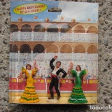 Figuras de Goma y PVC: BAILADORES DE FLAMENCO EN EL TABLAO - TEIXIDOR. Lote 205284420