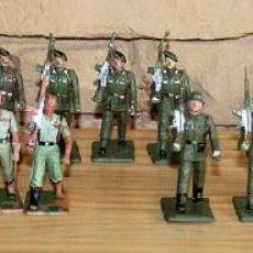 Figuras de Goma y PVC: REAMSA - LOTE 20 DE FIGURAS MILITARES: LEGIONARIOS, PARACAIDISTAS, ESQUIADORES, GUARDIA CIVIL.... Lote 195478010