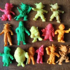 Figuras de Goma y PVC: COLECCION DE 15 GOMAS MATUTANO DRAGON BALL (BOLA DE DRAGON) PREMIOS DE MATUTANO. Lote 210164701