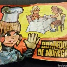Figuras de Goma y PVC: SOBRE CERRADO TIPO MONTAPLEX COMEDOR DE MUÑECAS. Lote 195917685