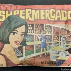 Figuras de Goma y PVC: SOBRE CERRADO MONTAPLEX MI SUPERMERCADO 308. Lote 195918607