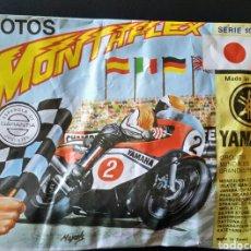 Figuras de Goma y PVC: SOBRE CERRADO MONTAPLEX SERIE 500 NÚMERO 4 MOTO YAMAHA. Lote 195980526