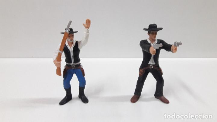 Figuras de Goma y PVC: VAQUEROS - COWBOYS . COMANSI - Foto 2 - 196104135